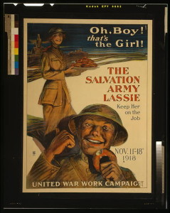 Figure 1. A Salvation Army poster for the Campaign.