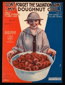 The Salvation Army doughnut girls' popularity extended into war time music.